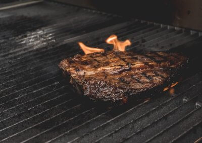 Flame-grilled Steak