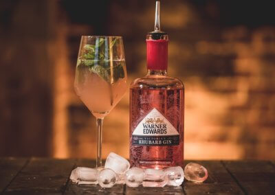 Warner Edwards Rhubarb Gin Netherton Steakhouse